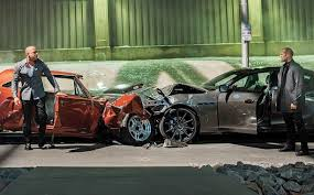 If only all of us could walk away from a head on collision like this without a scratch