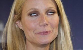 Gwyneth Paltrow rolling her eyes
